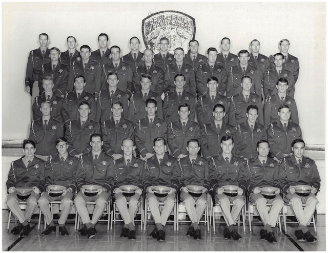 Academy graduation with Jim walls front and center