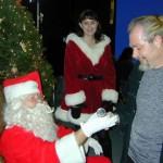 Jim as Santa / Westwood Studios 2001